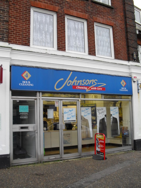 Dry cleaners in London Road