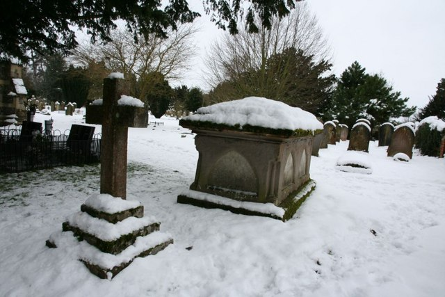 Tomb in the snow