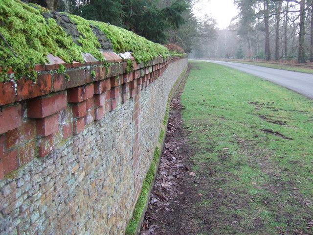 Her Majesty's garden wall