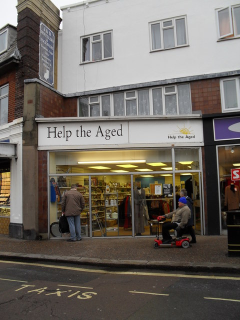 Help the Aged in London Road