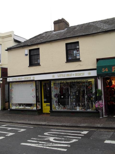Little shop of Secrets in London Road