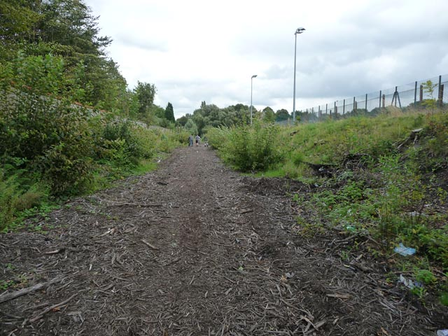 Disused railway line south east of Chorlton Junction