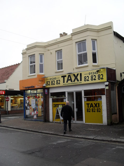 Taxi office in London Road