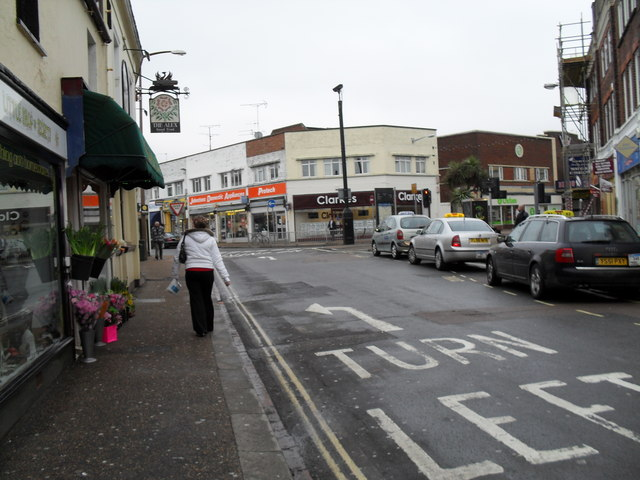 Pavement in London Road