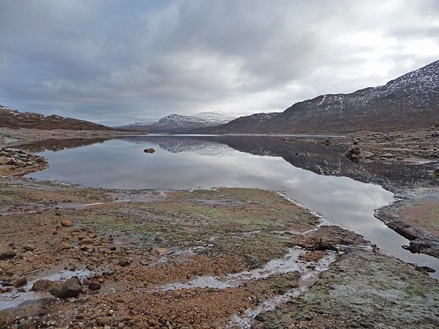 Shore of Loch Cluanie