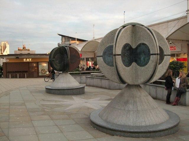 Twins Sculptures