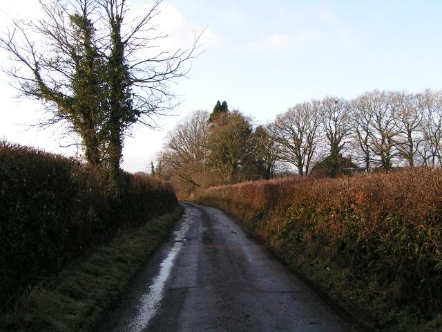 Lane near Little Barton Farm