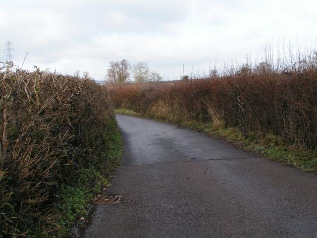 Lane to Hitts Cross