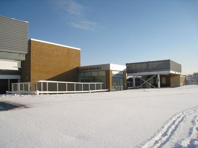 Snow on the top floor