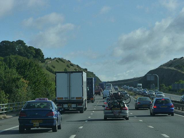 M3 through Twyford Down