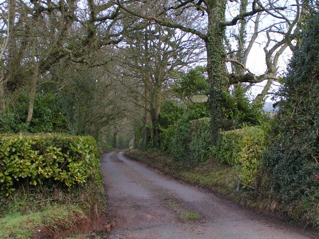 Road to Larkbeare Court
