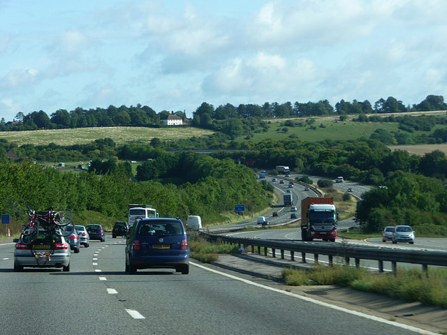 M3 east of Winchester