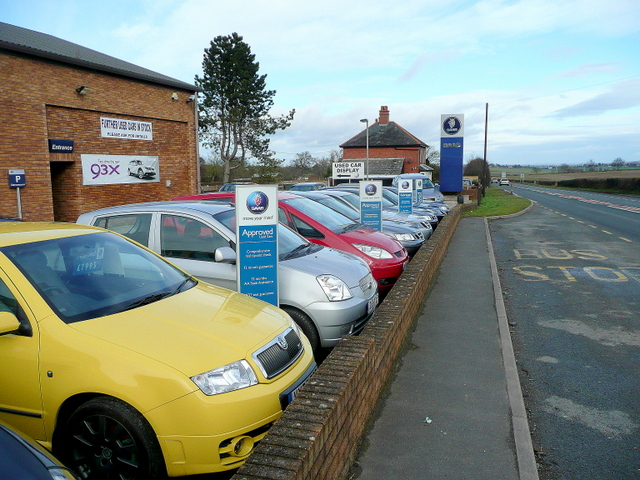 Colourful used cars
