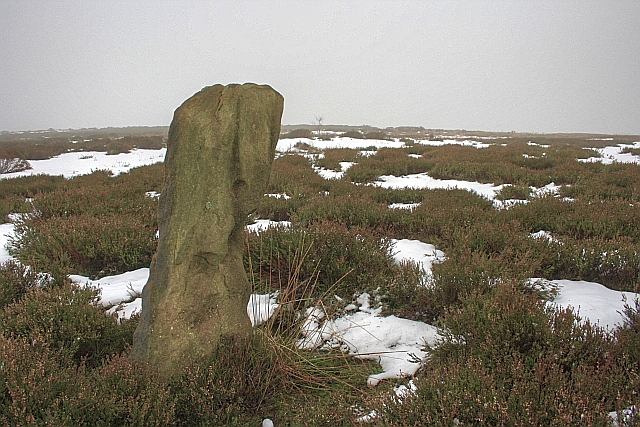 Standing Stone, Above Broad Ings Beck