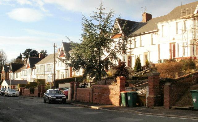 Gibbs Road west from Carey Road, Beechwood