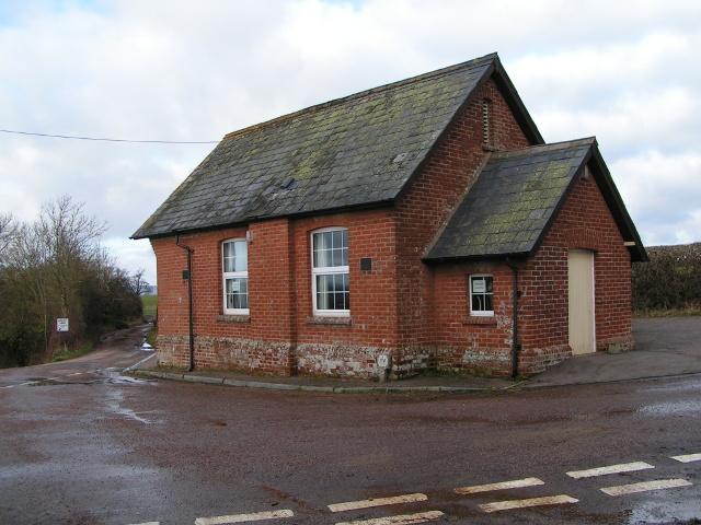 Marsh Green village hall at Upcott