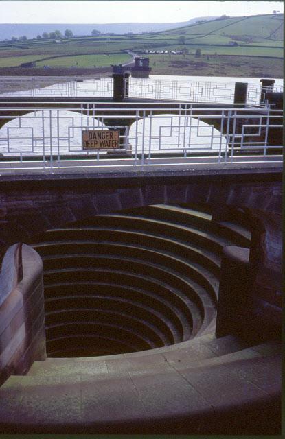 Overflow of Digley Reservoir