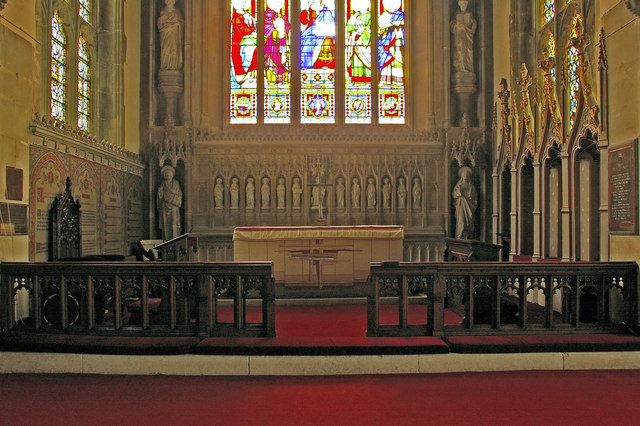 St Mary's Church, Reigate - the sanctuary