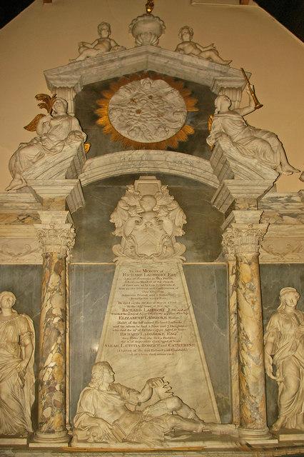 St Mary's Church, Reigate - the Ladbroke memorial