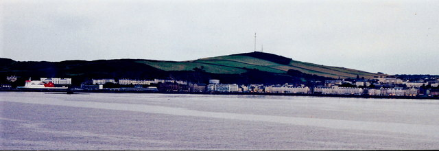 Douglas - Harbour, promenades from Onchan Head