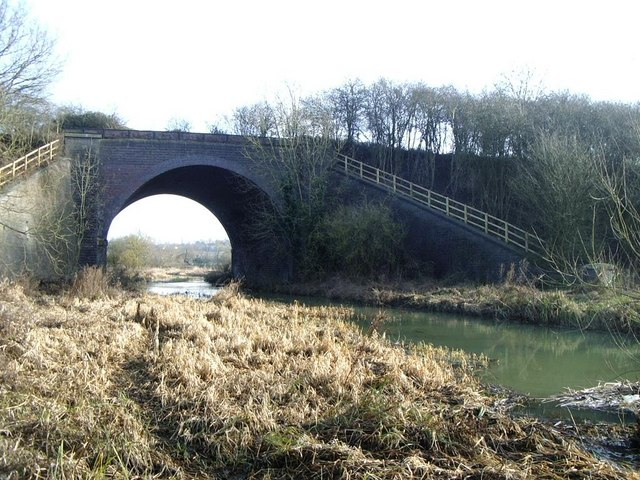 River Avon and former Great Central Railway