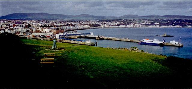 Douglas - Harbour, promenades from Douglas Head