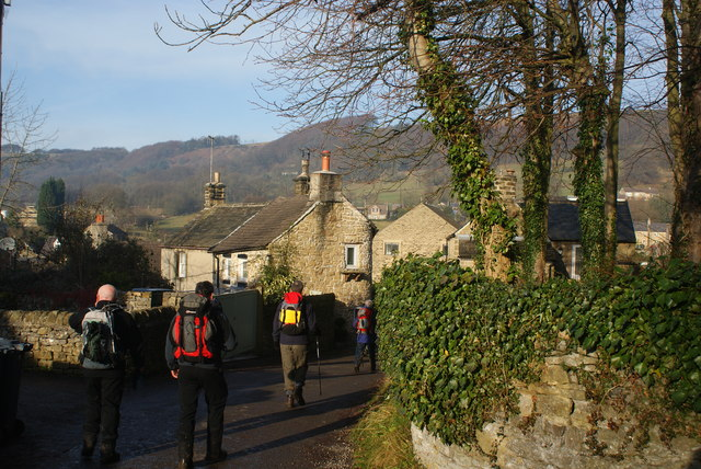 Entering Eyam from the south