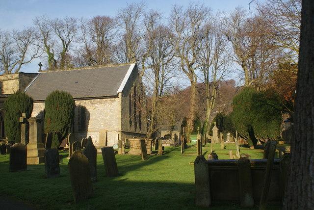 Eyam Churchyard