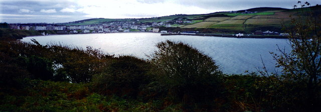 Port Erin - Panoramic view from Bradda Head Trail