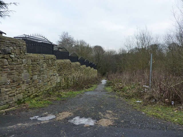 Footpath at Woodhey Farm