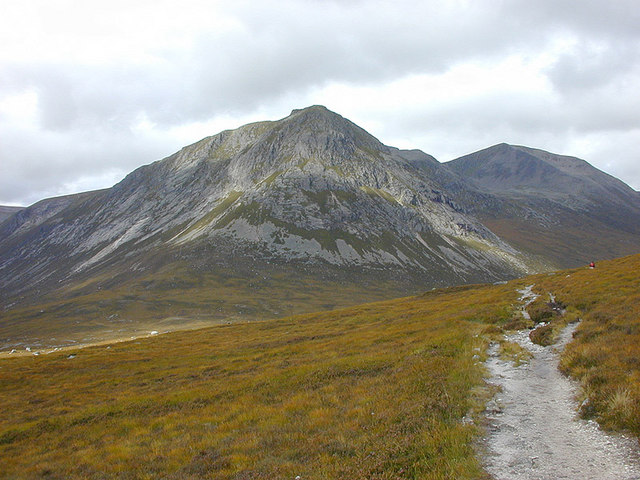 View towards the Devil's Point and Cairn Toul