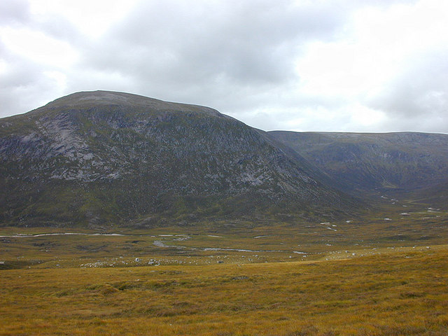 View towards Beinn Bhrotain