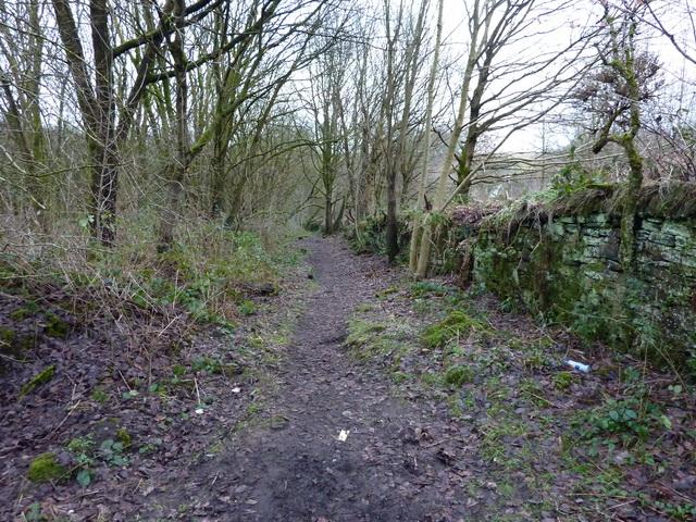 Footpath off Nuttall Road