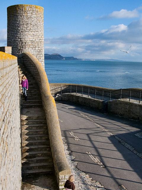 Museum Steps ~ Lyme Regis