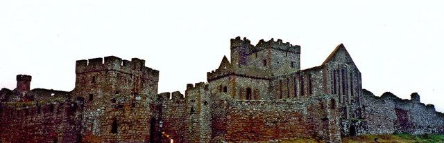 Peel - Peel Castle on St Patrick's Isle