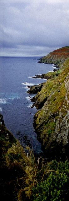 Douglas - Marine Drive (A37) coastline