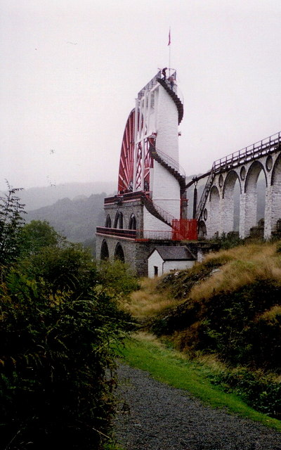 Laxey - Laxey Wheel (Lady Isabella )