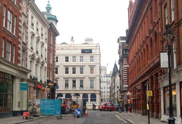 East end of Chandos Place, London WC2