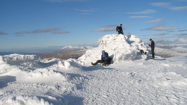 Beinn Ime,the summit