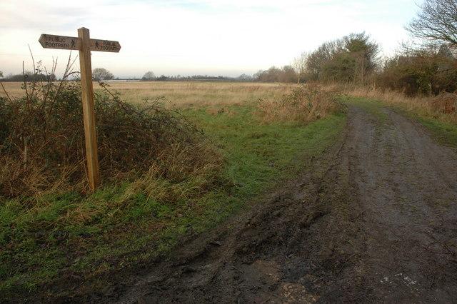 Footpath to Bretforton