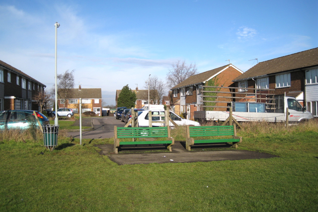 Cubbington recreation ground, north entrance
