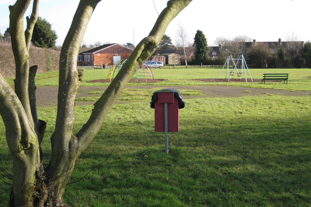 Play area, Cubbington recreation ground