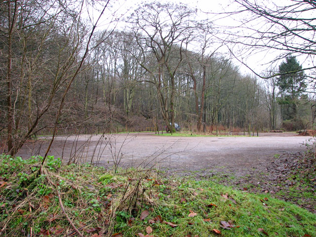 Car park in Whitlingham Country Park