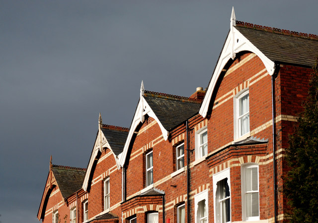 Grey and gables