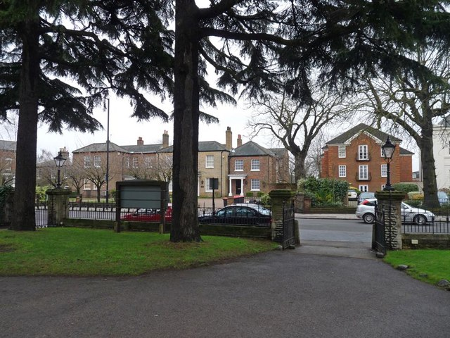 View from United Reformed Church, Wood Street, Barnet
