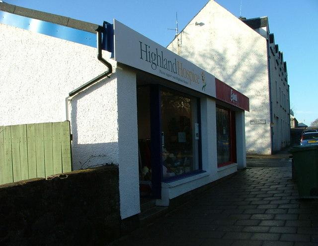 Highland Hospice Charity shop