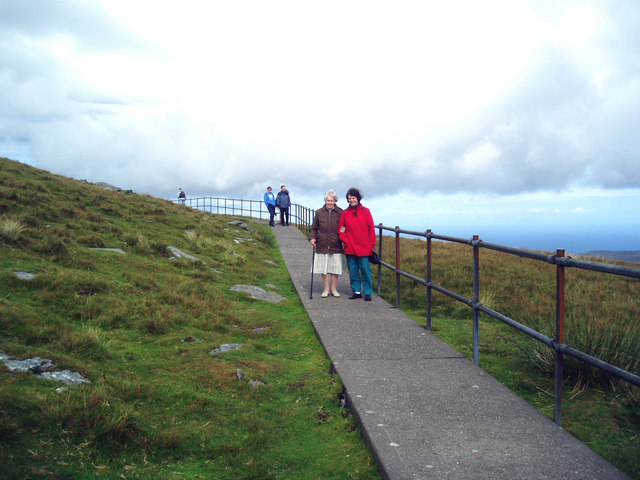 Path to Snaefell Summit
