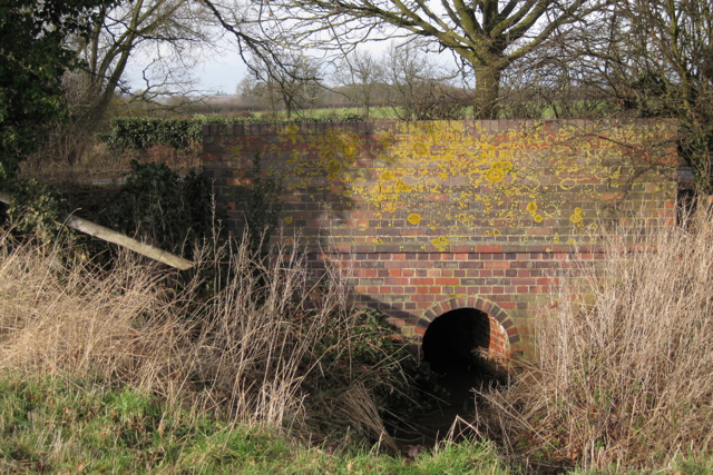 Culvert under Leicester Lane A445
