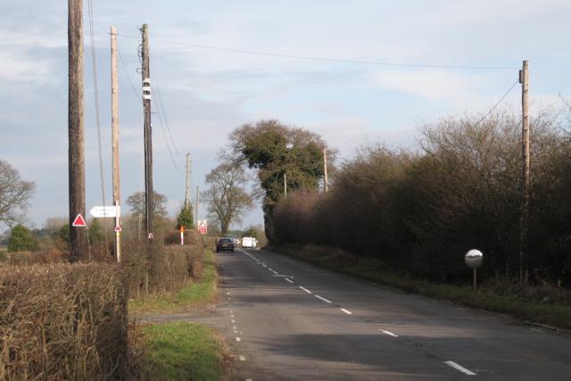 Leicester Lane A445 near Stone House Farm