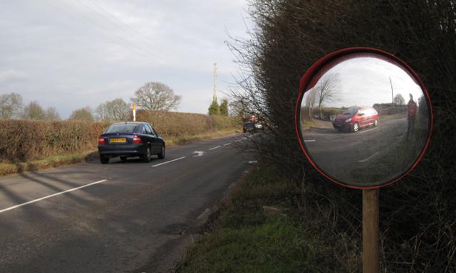 Leicester Lane A445 near Stone House Farm 2